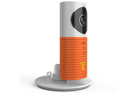 Smart Wifi security camera met night vision | Houd alles in gaten via je telefoon Oranje