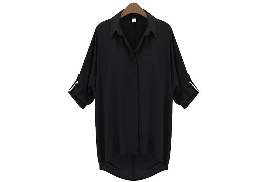 Daily blouse - Maat XL - Zwart