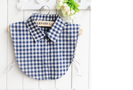 Blouse kraagjes | Losse kraagjes voor onder je trui | 16 verschillende kleuren/prints #8
