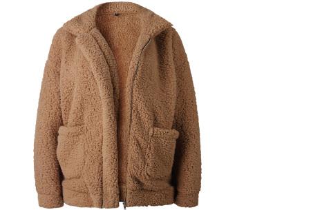 Teddy jas | Zachte en warme musthave in maar liefst 9 kleuren Camel