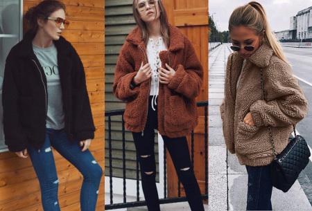 Teddy jas | Zachte en warme musthave in maar liefst 9 kleuren