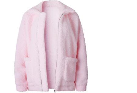 Teddy jas | Zachte en warme musthave in maar liefst 9 kleuren Roze