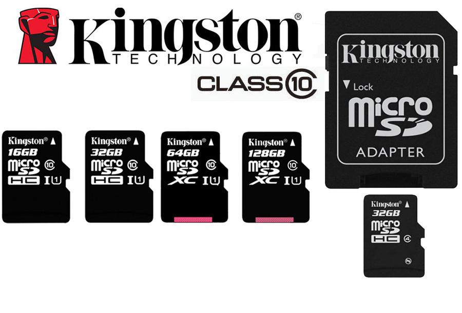 Kingston SD-kaarten | 16GB, 32GB, 64GB en 128GB