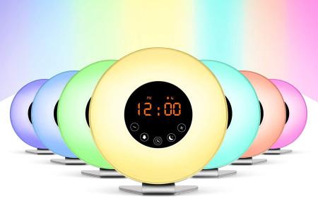 Grundig LED lichtwekker | Elke dag fris en fruitig aan je dag beginnen