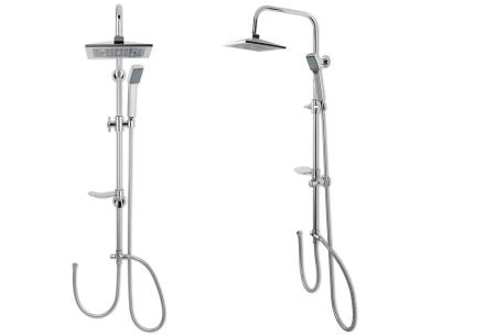 Regendouche met afneembare handdouche | Voor een luxe douche-ervaring RVS - chroom