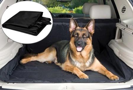 Hondendeken voor in de auto | Bescherm je auto tegen haren, vocht en vuil met deze praktische hoes.