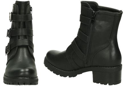 Buckle biker boots | Stoere en stijlvolle enkellaarsjes