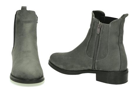 Suède look enkellaarsjes | De ideale schoen voor de najaarsdagen