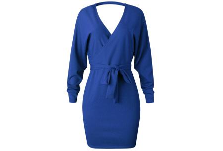 Classy dress   Het hele jaar door te dragen! Blauw
