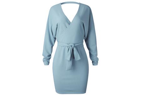 Classy dress   Het hele jaar door te dragen! Sky blauw