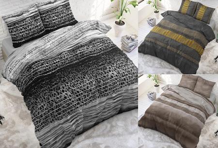 Luxe dekbedovertrekken in diverse prints | Keuze uit 3 maten