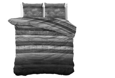 Luxe dekbedovertrekken in diverse prints | Keuze uit 3 maten  Marcus - Antraciet