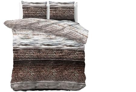 Luxe dekbedovertrekken in diverse prints | Keuze uit 3 maten  Panter Stijl - Taupe