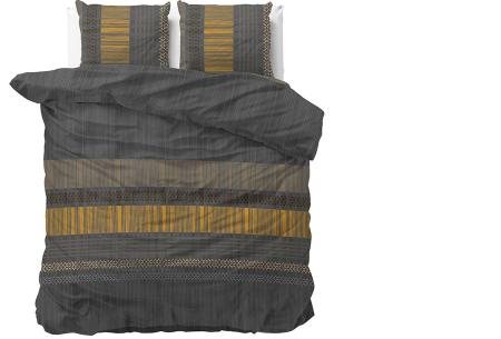 Luxe dekbedovertrekken in diverse prints | Keuze uit 3 maten  Anchie - Antraciet