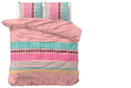 Luxe dekbedovertrekken in diverse prints | Keuze uit 3 maten  Anchie - Roze