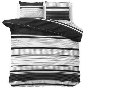 Luxe dekbedovertrekken in diverse prints | Keuze uit 3 maten  Max - White