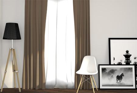 Luxe verduisterende gordijnen | Kant en klaar, verkrijgbaar in verschillende maten en kleuren