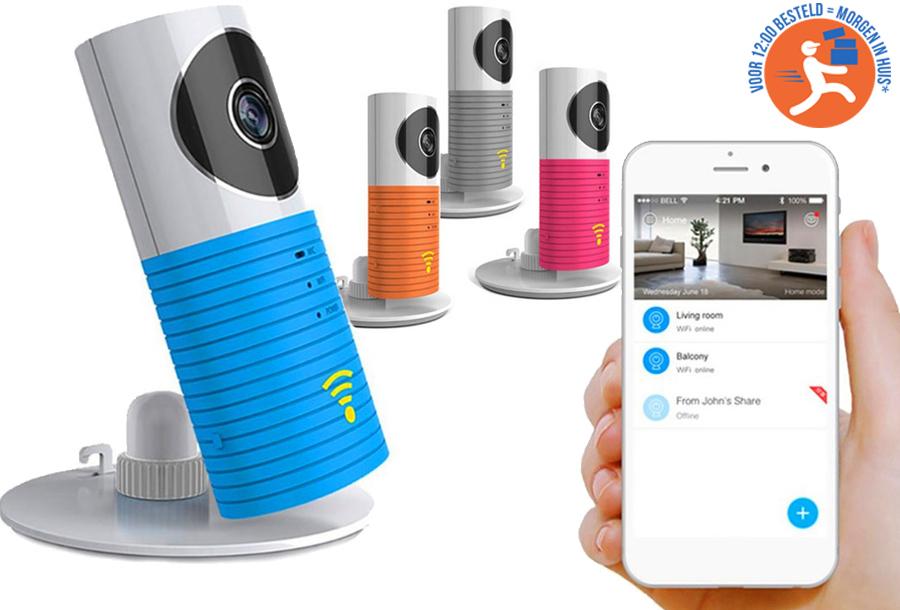 Smart Wifi security camera nu met mega korting