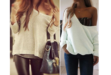 Comfy V-neck trui | Comfortable & trendy wannahave!