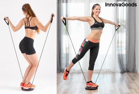 Body Twist Board om thuis te sporten