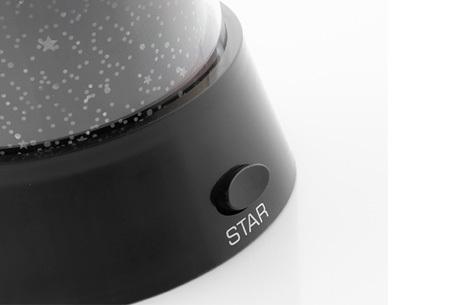 Sterrenhemel projectie lamp | Bekijk het heelal vanuit je bed!