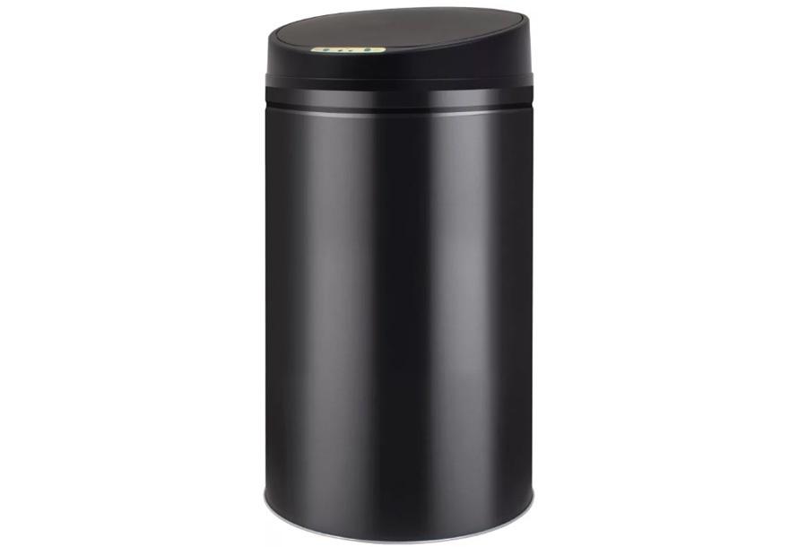 Zwart Rvs Prullenbak.Aanbieding Store Nl Rvs Prullenbak 42 Liter Zwart