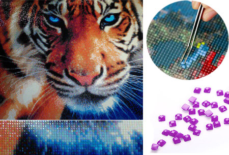 Dagaanbieding - Diamond painting - dieren versie nu met korting dagelijkse koopjes