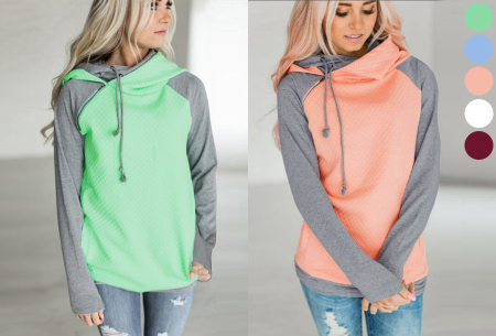 Pastel sweater nu in de sale met mega korting