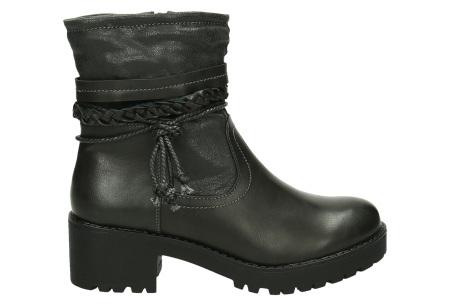Biker boots | Diverse modellen in maat 36 t/m 41 lal-bo-233 - grijs