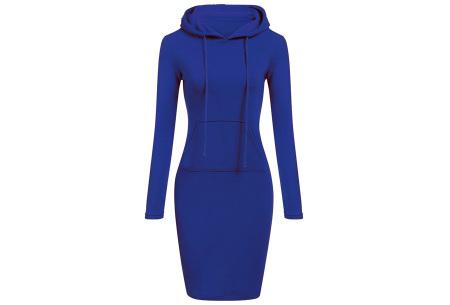 Fleece sweater dress | Comfortabel, stijlvol en heerlijk warm Blauw