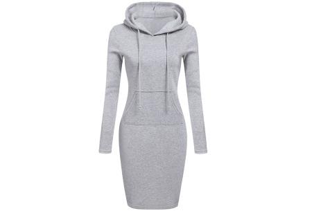 Fleece sweater dress | Comfortabel, stijlvol en heerlijk warm Grijs