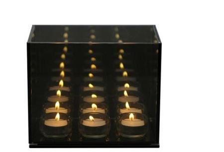 Endless Light Infinity cube | Voor een oneindig sfeerlicht 6 lights