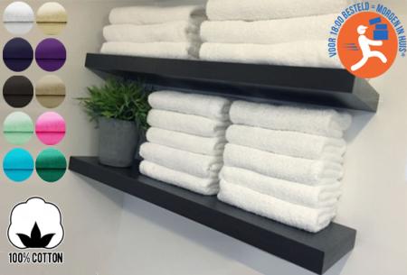 Handdoeken, badhanddoeken hotelkwaliteit