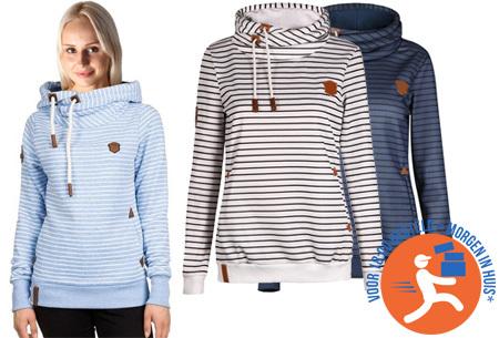 Stripe sweater | Super comfy sweater voor een hippe & casual look