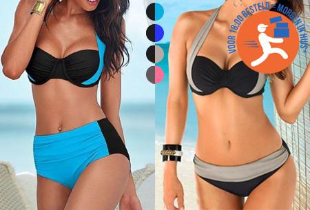 Halter push-up bikini