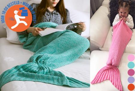 Zeemeermin deken nu heel voordelig
