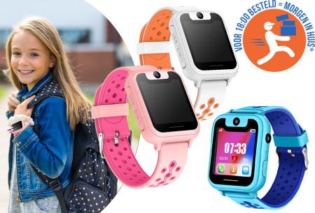 Locatie tracker horloge voor kinderen | Altijd op de hoogte van de locatie waar en wanneer jij wilt!