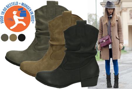 Cowboy boots nu met hoge korting in de sale