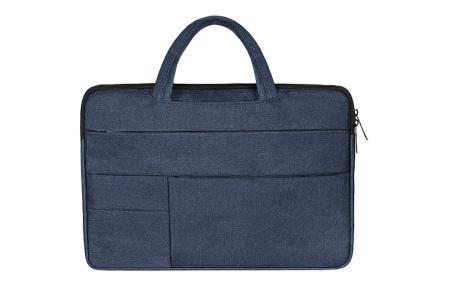 Laptoptas | Luxe tas voor je laptop verkrijgbaar in 4 formaten Donkerblauw