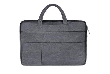 Laptoptas | Luxe tas voor je laptop verkrijgbaar in 4 formaten Donkergrijs