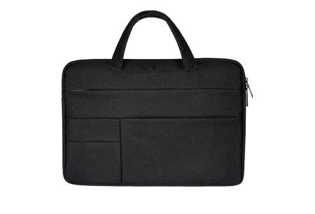 Laptoptas | Luxe tas voor je laptop verkrijgbaar in 4 formaten Zwart