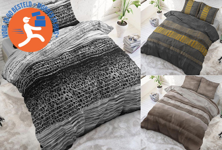 Luxe dekbedovertrekken in diverse prints