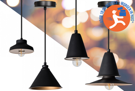 Midnight hanglampen - industrieel design