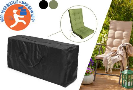 Beschermhoes voor je tuinstoelkussens
