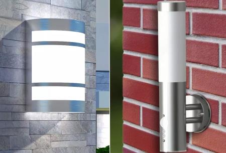 RVS buitenlamp - wandlampen met hoge korting