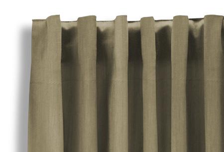 Lifa Living verduisterende gordijnen | Kant & klaar verkrijgbaar in 10 kleuren en 2 maten beige haken
