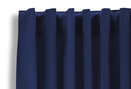 Lifa Living verduisterende gordijnen | Kant & klaar verkrijgbaar in 10 kleuren en 2 maten blauw haken