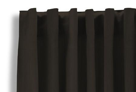 Lifa Living verduisterende gordijnen | Kant & klaar verkrijgbaar in 10 kleuren en 2 maten bruin haken