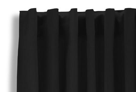 Lifa Living verduisterende gordijnen | Kant & klaar verkrijgbaar in 10 kleuren en 2 maten zwart haken