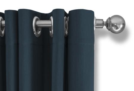 Lifa Living verduisterende gordijnen | Kant & klaar verkrijgbaar in 10 kleuren en 2 maten teal ringen